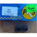 PKS - PL/R001. Neumáticos Super Racing, rallado recto.