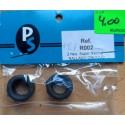 PKS PLR002. Neumáticos Super Racing, rayado oblicuo.
