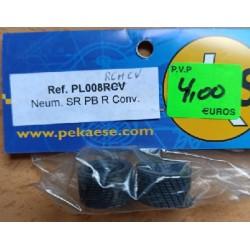 PKS PL008RCHCV. 2 Neumáticos SR, perfil bajo, rayado conv.