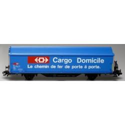 MARKLIN 4735. H0 Vagon de mercancías Long Cargo Domicile BOXCAR, de la SBB.