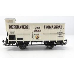 TRIX 24309. H0 Vagón frigorífico cervecero de los Ferrocarriles Bávaros K.Bay