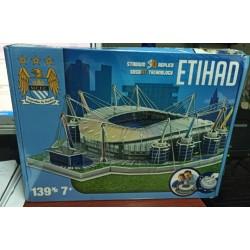 DISPERSA 44120411. Puzzle 3D ETIHAD Emiratos Arabes.