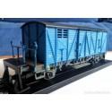 KTRAIN 0703-E. H0 Vagon cerrado VSO 1026 azul