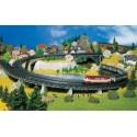 FALLER 222543. N Seis tramos de puente en curva para via radio 2, 30º,