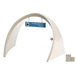 FALLER 120562. Portal tunel ICE H0. 2 vías