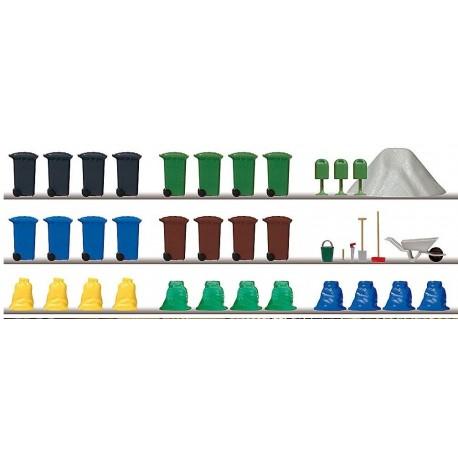 BUSCH 1136. Set accesorios limpieza/obras H0