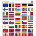 BUSCH 1139. Set banderas H0