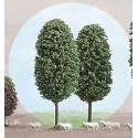 BUSCH 6053. 2 árboles H0. 100 mm alto