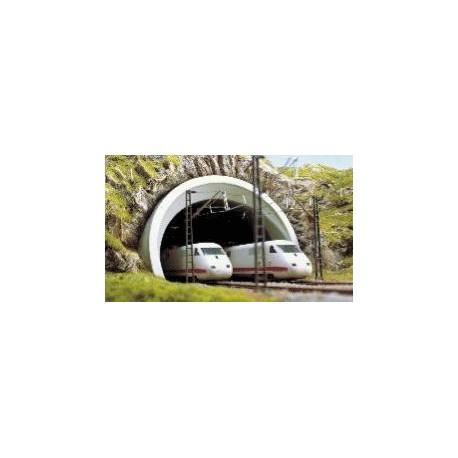 BUSCH 7021. H0 Portal Túnel ICE, doble vía