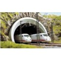 BUSCH 7021. Portal Túnel ICE, doble vía H0