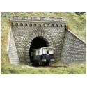 BUSCH 7022. Túnel portal 1 vía H0