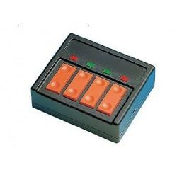 ROCO 10520. Pupitre 4 conmutadores para desvios con luz