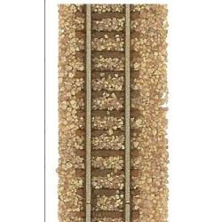 BUSCH 7125. Balasto fino marrón N 230 gr