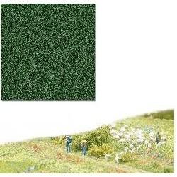 BUSCH 7323. Flocaje fino, verde oscuro H0/N