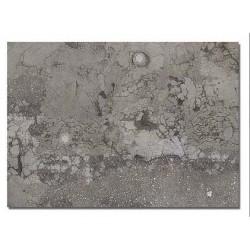 BUSCH 7416. Placas asfalto deteriorado con tapas alcantarillas H0