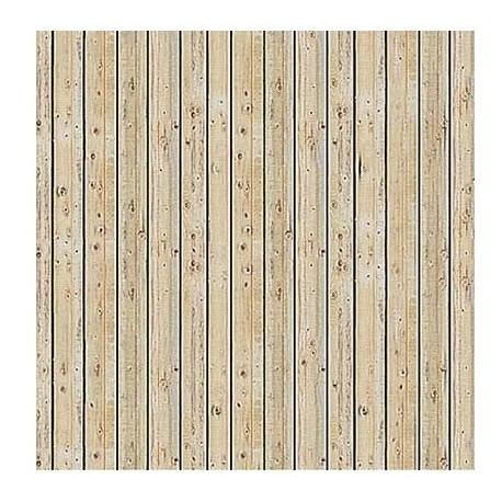 BUSCH 7419. Placa suelo o pared madera H0. 2 unidades