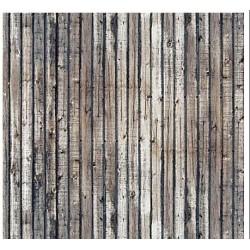BUSCH 7420. Placa madera envejecida H0. 2 unidades