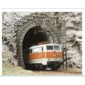 BUSCH 8191.N Portal túnel 1 vía. 2 unidades