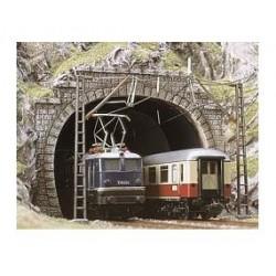 BUSCH 8192. N Portal túnel 2 vías. 2 unidades