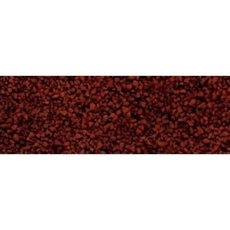 WOODLAND B70. Balasto fino rojo óxido H0/N