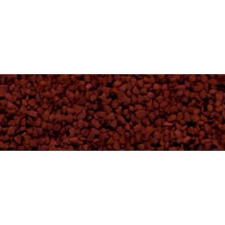 WOODLAND B77. Balasto medio rojo óxido H0/N