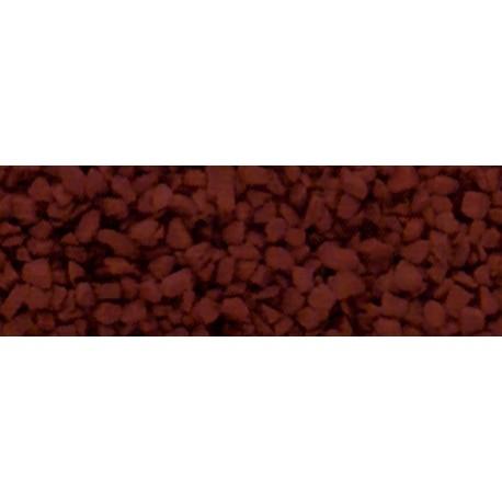 WOODLAND B84. Balasto grueso rojo óxido H0/N