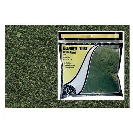 WOODLAND T49. Espuma fina Cesped mezcla verde