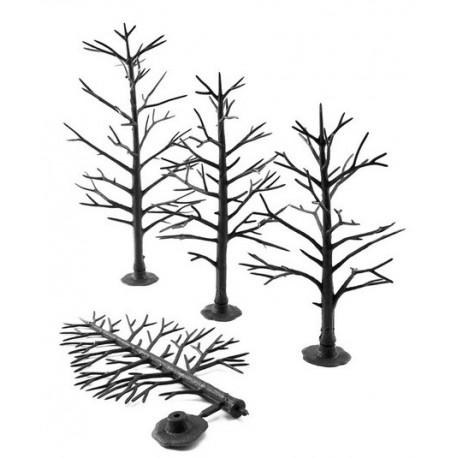 WOODLAND TR1123. Armazones árboles plástico 12 unidades