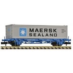 FLEISCHMANN 824215. N Vagón plataforma RENFE con contenedor MAERSK