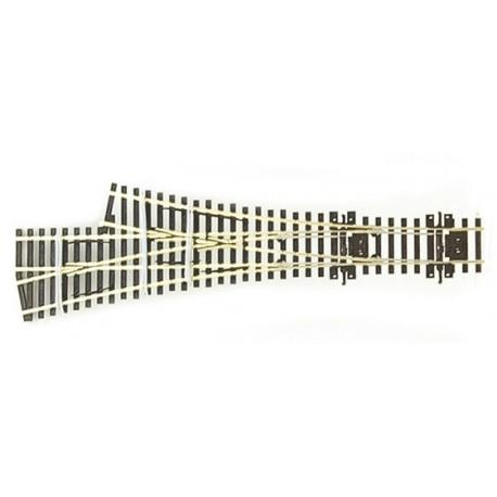 PECO SL-E199. Desvío triple asimétrico Electrofrog, código 75 H0
