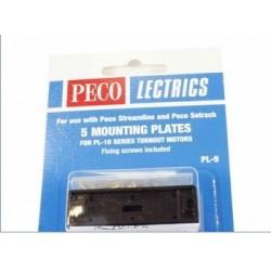 PECO PL-9. Soporte bobina desvío Peco