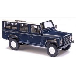 BUSCH 50302. H0 Land Rover Defender azul