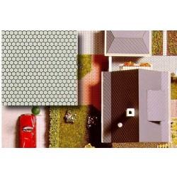BUSCH 7036. H0 Placas decoración suelo, 2 unidades