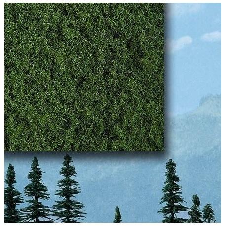 BUSCH 7311. Foliage fino verde medio H0/N