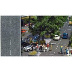 BUSCH 8139. N Carretera señalizada flexible y autoadhesiva 1 mt.
