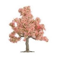 BUSCH 6331/5. H0 Arbol frutal con flores rosas 75 mm