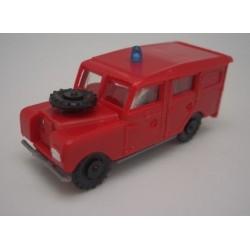 EKO 2127B. H0 Land Rover largo Bomberos