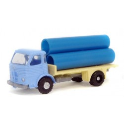 EKO 2141. H0 Camión Pegaso Comet con carga de tubos