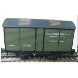 Vagón Fudre para transporte de vino ANIBAL ARENAS. RENFE PK-10525