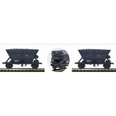 MABAR 86304. Set 2 vagones tolva RENFE gris172002/008