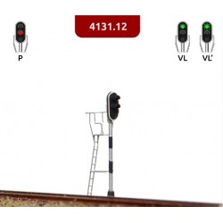 MAFEN 413112. N Señal de 2 luces verde, rojo