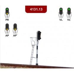 MAFEN 413113. N Señal de 2 luces verde, amarillo