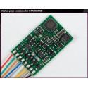 LENZ 10231. H0 Decóder Standard Plus. 8 pins