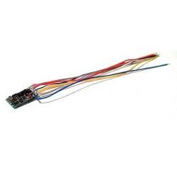 LENZ 10310. N Decóder SILVER mini cables
