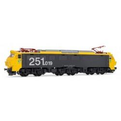 ELECTROTREN 2596. H0 Locomotora Eléctrica RENFE 251.019 Analógica.