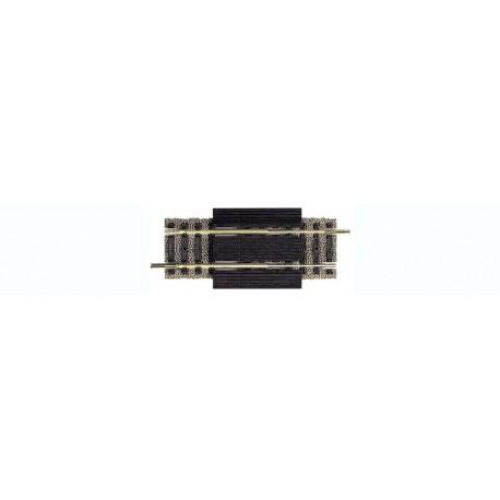 FLEISCHMANN 6110. Tramo recto vía Profi de 80/120 mm (extensible)