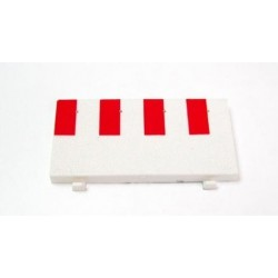 NINCO 10204. Borde Recta 10 cm. 6 unidades