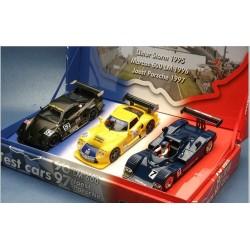 FLY LM01. Set 3 coches LE MANS 1995-1996 Y 1997. Edición Especial