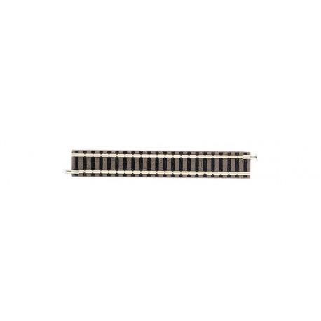 FLEISCHMANN 9101. Tramo recto vía Profi de 111 mm