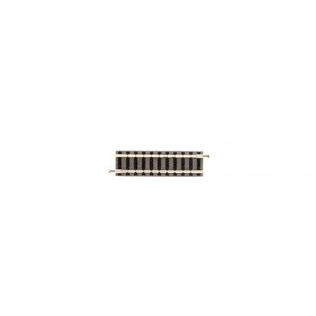 FLEISCHMANN 9103. N Tramo recto vía Piccolo de 55,5 mm
